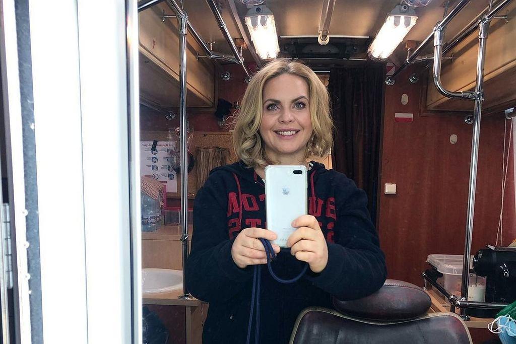 'Przyjaciółki'. Magdalena Stużyńska wraca na Instagram. 'Przechorowałam wirusa'