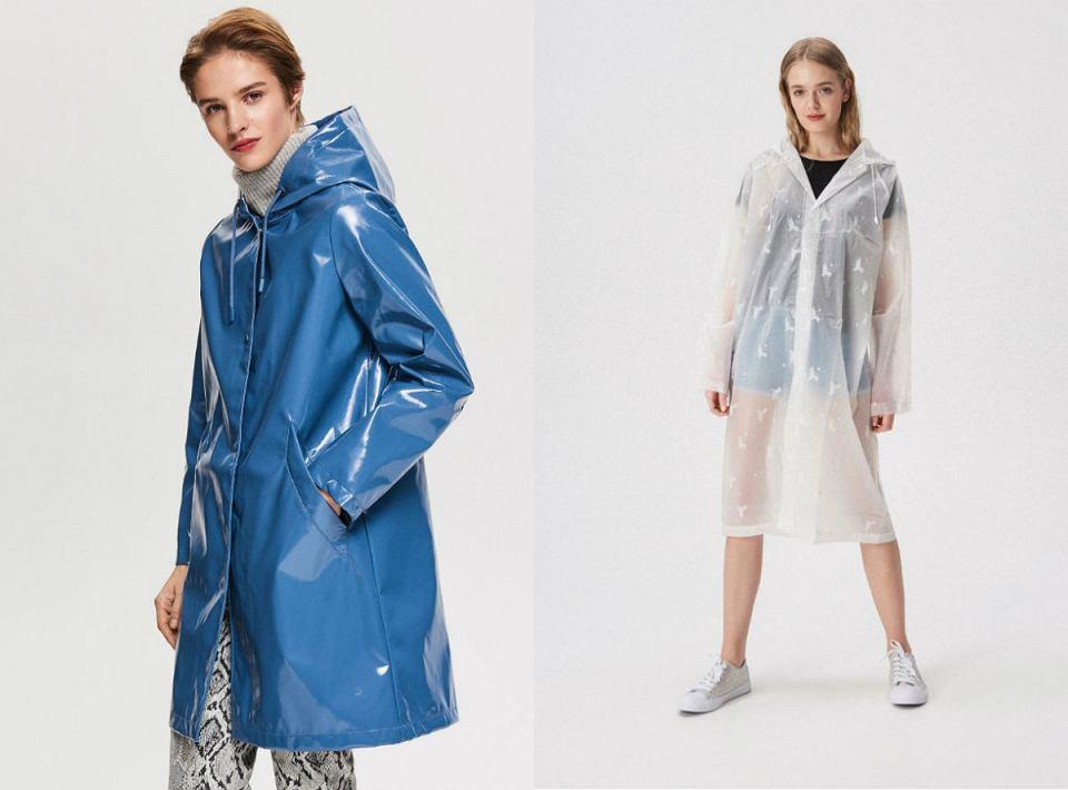 płaszcze przeciwdeszczowe damskie
