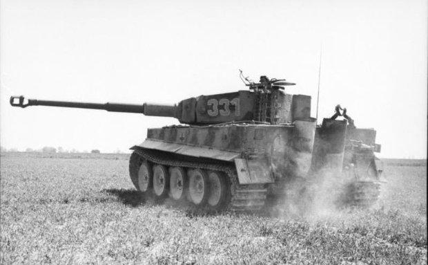 czołg Tygrys 1