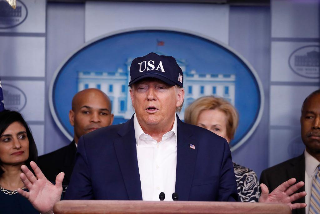 Trump Virus Outbreak
