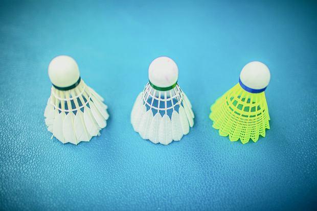 Lotki do badmintona.