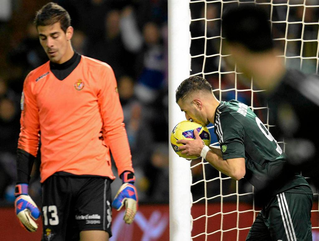 Real Valladolid 2:3 Real Madryt