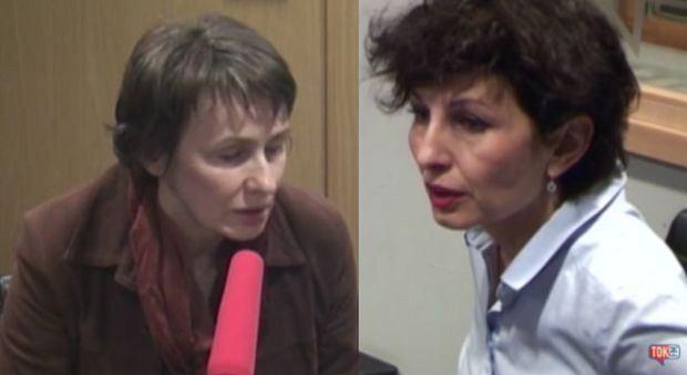 Agnieszka Romaszewska-Guzy (Biełsat) i Renata Kim (