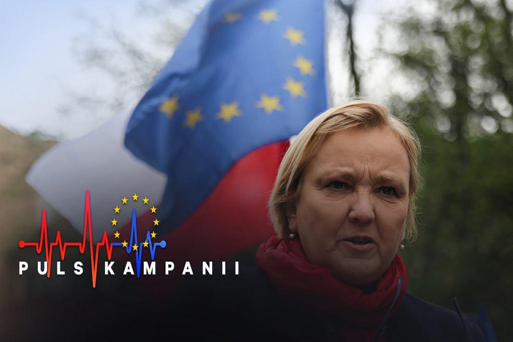 Wybory do Parlamentu Europejskiego 2019. Kieleccy wolontariusze Róży Thun mieli zostać oblani fekaliami
