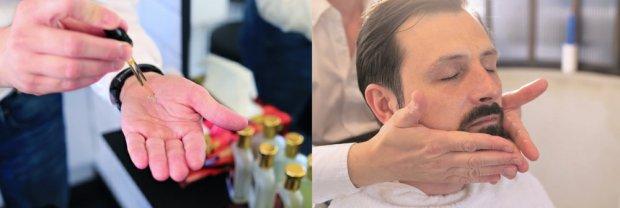Maciej Łagocki goli w swoim salonie naszego redakcyjnego kolegę