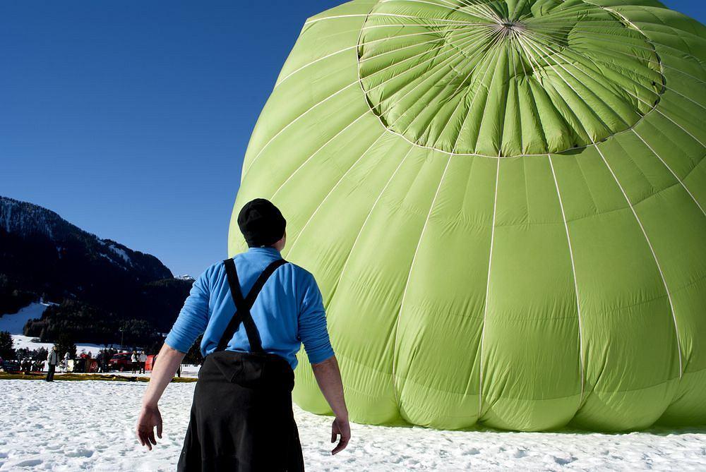 Festiwal Balonowy w Dobbiaco w Południowym Tyrolu, Włochy