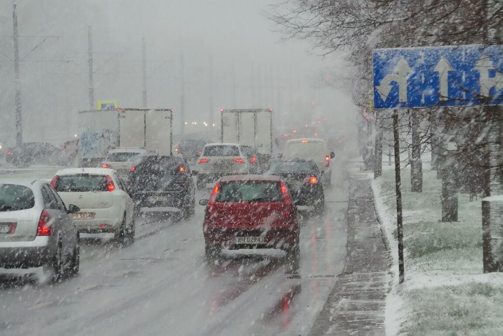 Śnieg Warszawa