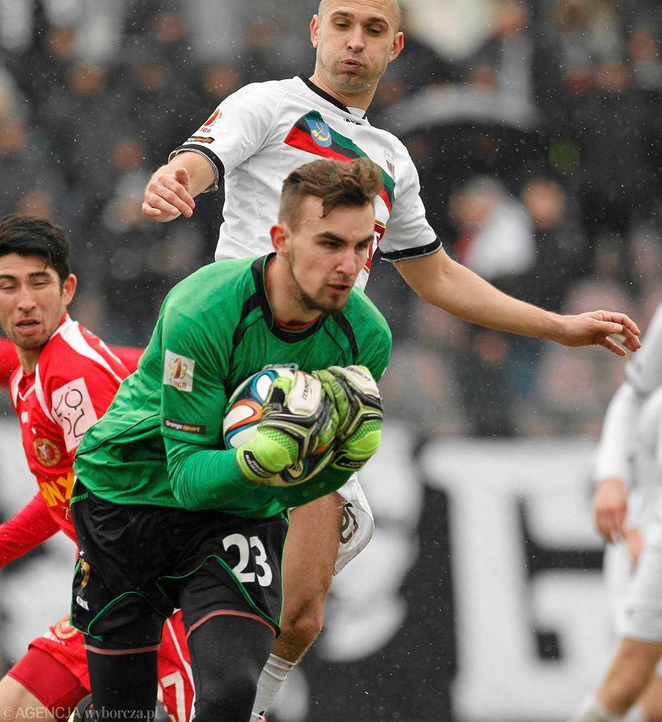 Jaworzno. GKS Tychy - Widzew Łódź 1:0