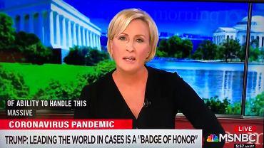 Mika Brzezinski skrytykowała Trumpa na antenie