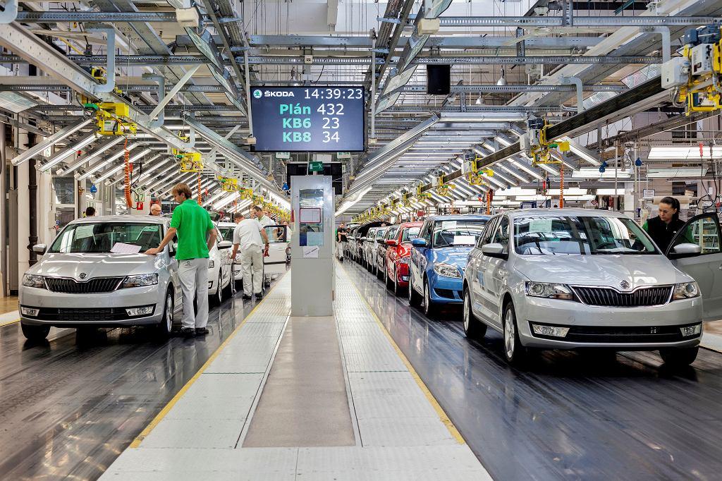 Fabryka Skody w Czechach