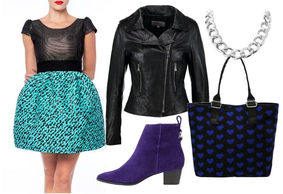 Sukienka bombka - stylizacja Shop My Mood