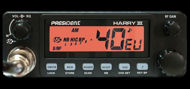 President Harry III ASC