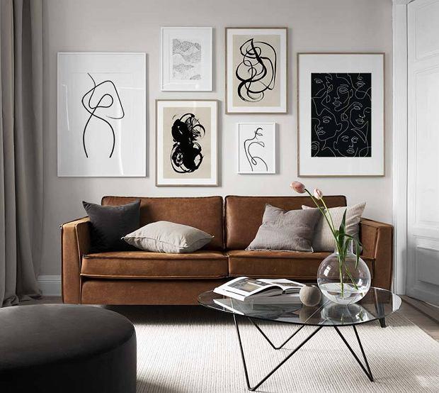 Grafiki na ścianę w wersji czarno-białej