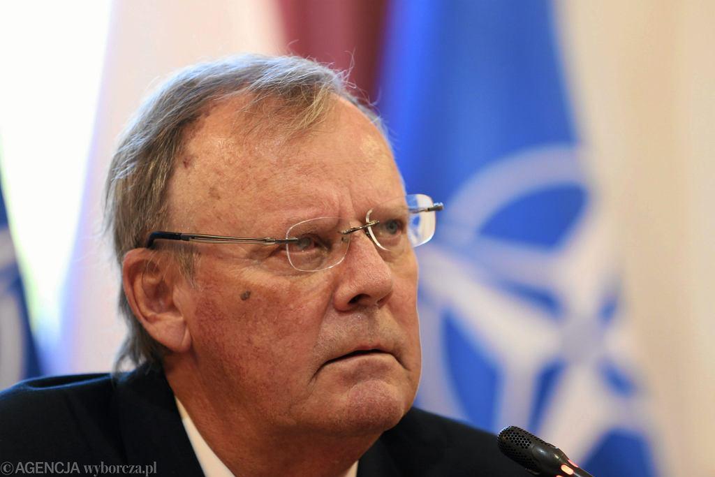 Wacław Berczyński, szef podkomisji smoleńskiej przy MON