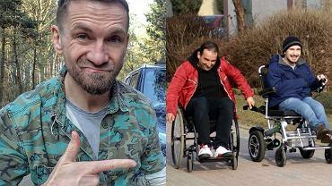 Przemysław Kossakowski, kadr z programu 'To tylko kilka dni'