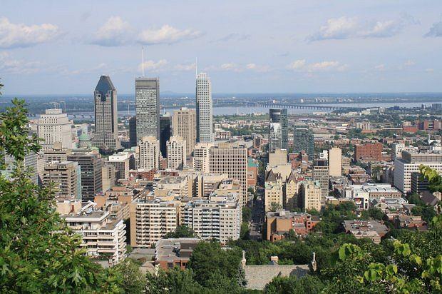 Widok na miasto - Kanada