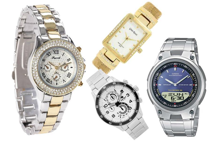 Złote i srebrne zegarki do 200 zł