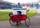 Kręcił kilometry w ramach akcji charytatywnej