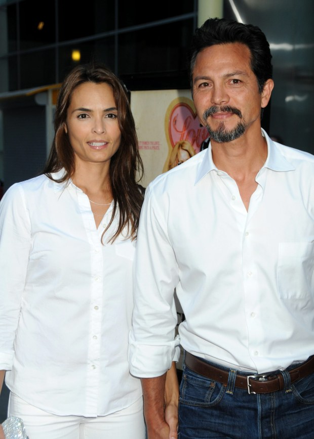 "23 June 2010 - Hollywood, California - Talisa Soto and Benjamin Bratt. ""Love Ranch"" Los Angeles Premiere held at Arclight Cinemas.     CAP/ADM/BP  ?Byron Purvis/AdMedia/Capital Pictures"