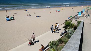 Plaża w Carcavelos
