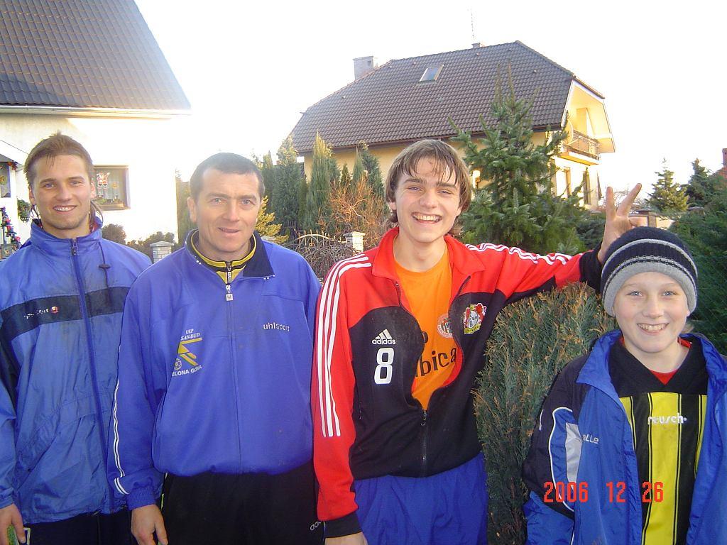 Zielińscy: Tomasz, Bogusław, Paweł i Piotr