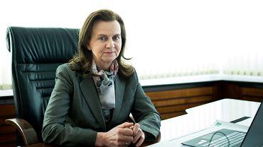 Dyrektor ZUS Gertruda Uścinska