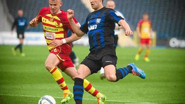 GKS Katowice jest zainteresowany pozyskaniem Piotra Petasza (z prawej)