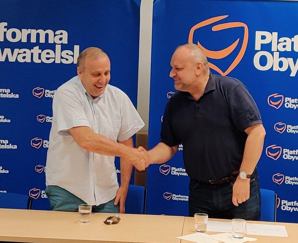 Grzegorz Schetyna znów przewodniczącym PO na Dolny Śląsk. Jarosław Duda złożył rezygnację z funkcji