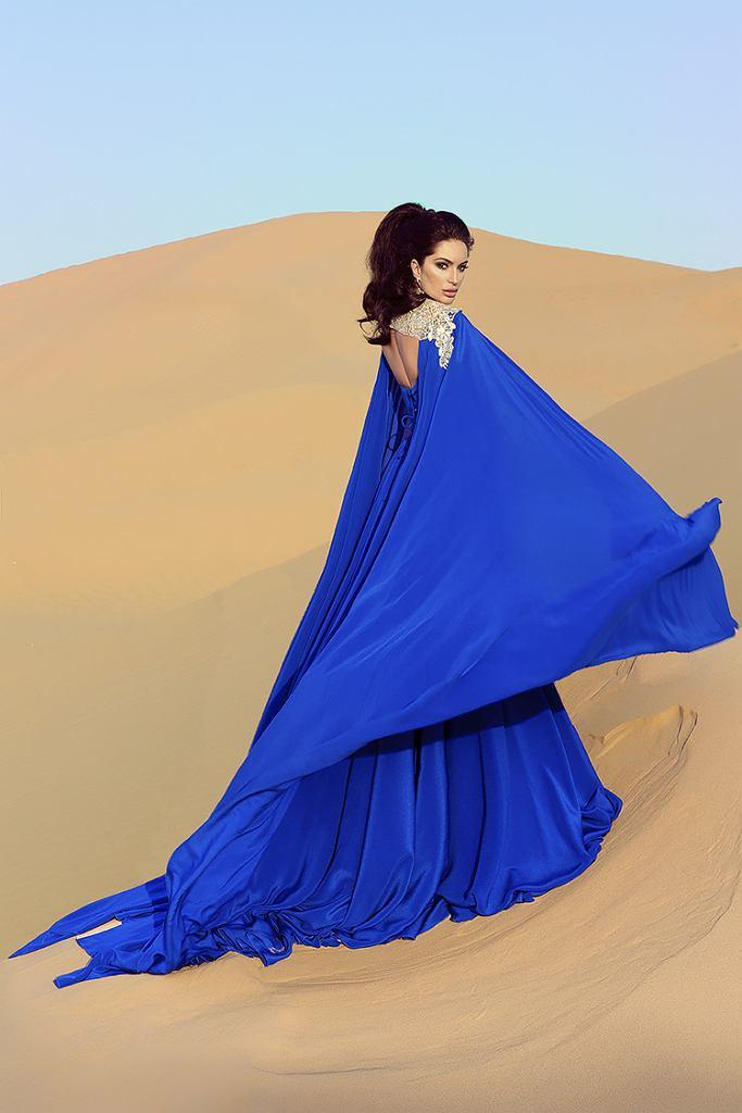 Sylwia Romaniuk, sesja zdjęciowa w Zjednoczonych Emiratach Arabskich