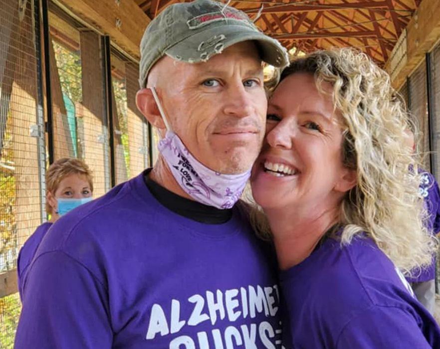 Chory na Alzheimera wzruszył żonę do łez. Przez chorobę zapomina, że jest żonaty