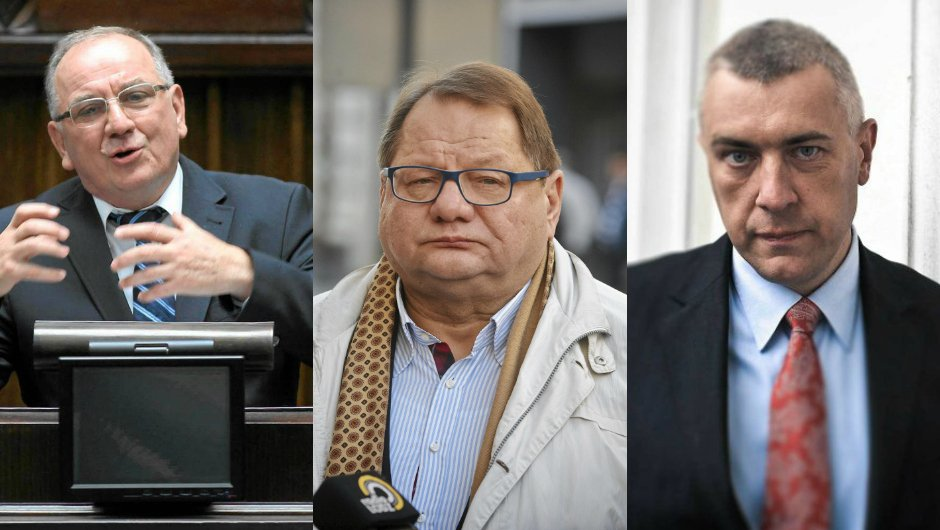 Jerzy Kozdroń, Ryszard Kalisz, Roman Giertych