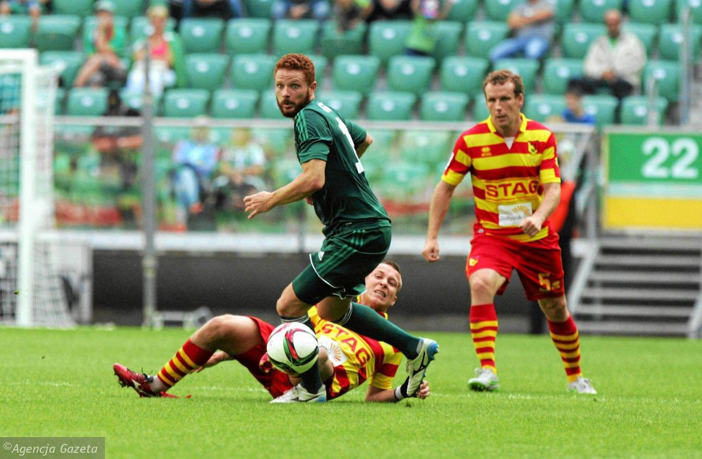 Marcel Gecov (w zielonej koszulce)