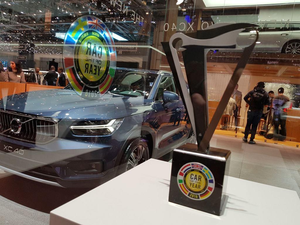 Stoisko Volvo w Genewie 2018