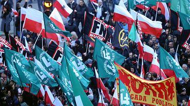 Marsz Niepodleglosci w Warszawie