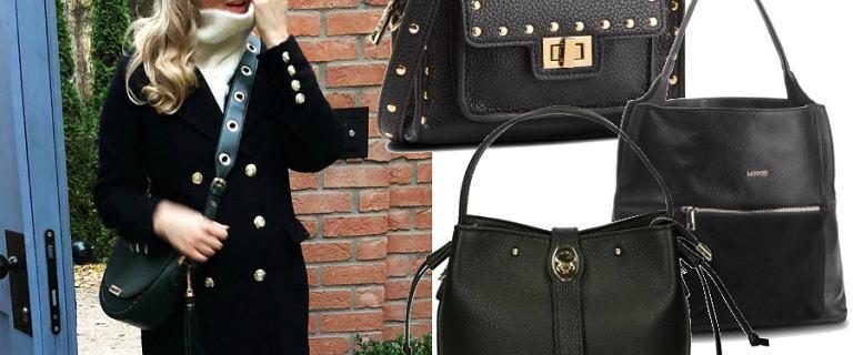 Czarne torebki w małym i dużym formacie. Socha wybrała najmodniejszy model sezonu