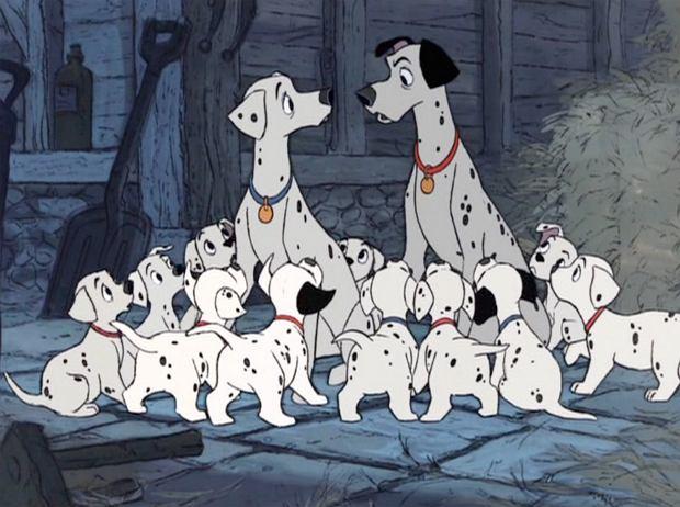 '101 dalmatyńczyków' (1961)