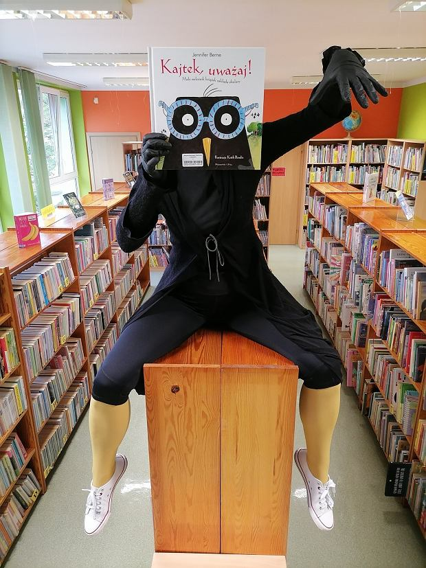 'Kajtek uważaj' z Biblioteki Publicznej w Złotowie