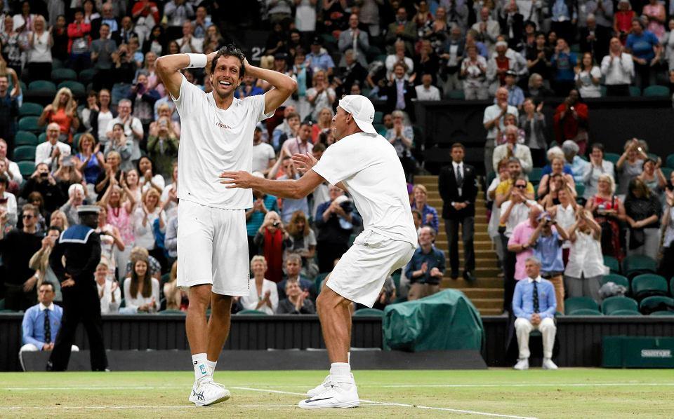 Zdjęcie numer 0 w galerii - Wzruszony Kubot, czyli szalona radość po wygraniu Wimbledonu