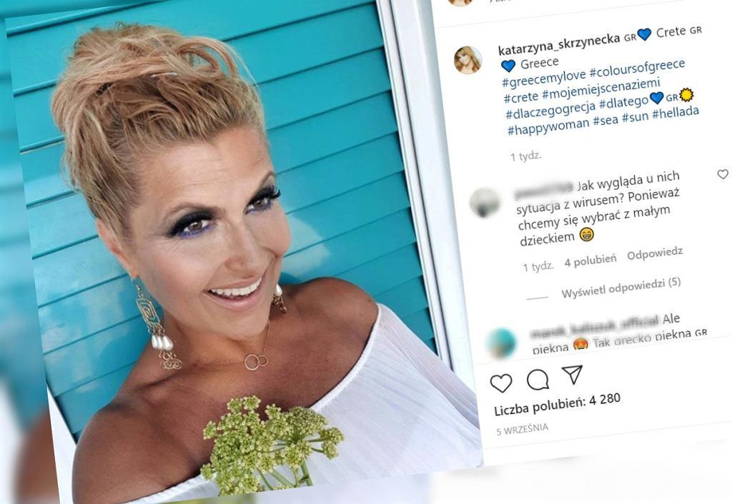 Katarzyna Skrzynecka pokazała córki