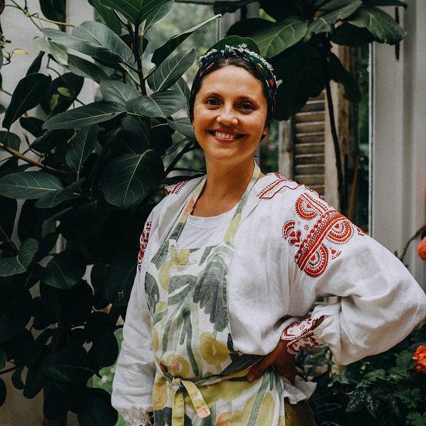 Olia Hercules, autorka książki kulinarnej 'Sielskie smaki. Nostalgiczna podróż kulinarna' (wydawnictwo Prószyński i S-ka),