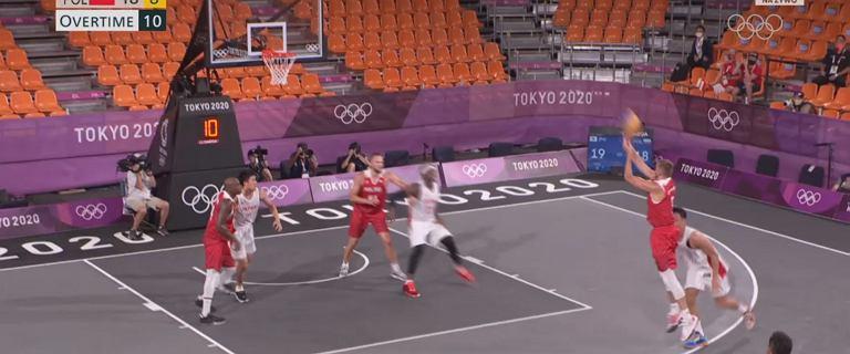 Historyczny mecz polskich koszykarzy na igrzyskach! Dramaturgia do samego końca