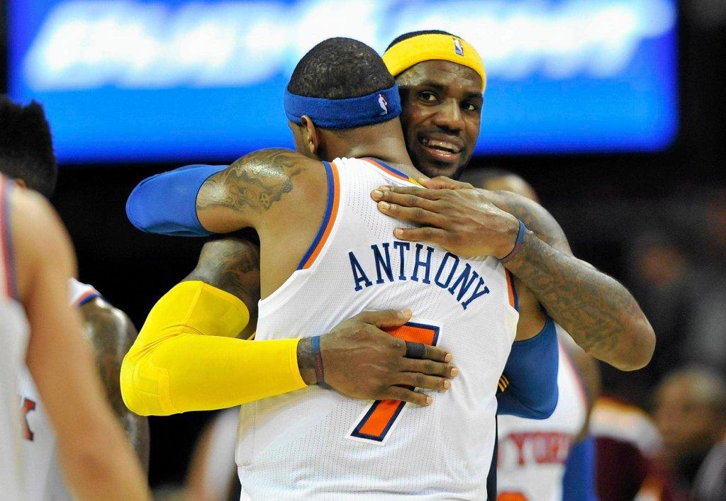 LeBron James i Carmelo Anthony