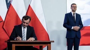 Podpisanie umowy koalicyjnej