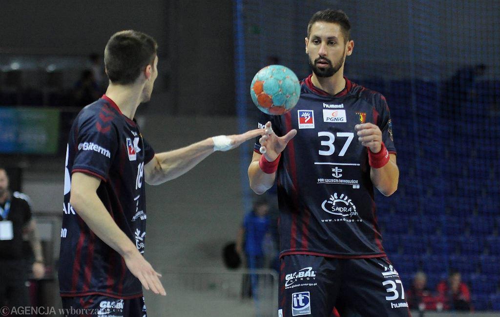 Zawodnicy Pogoni Handball Szczecin
