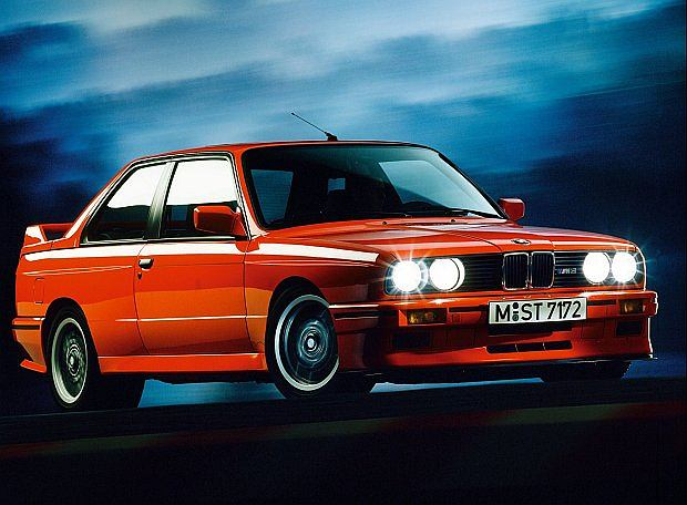 Model BMW M3 E30 był produkowany z przeznaczeniem na rynek europejski, japoński oraz amerykański