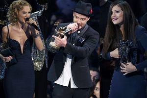 Taylor Swift, Justin Timberlake i Selena Gomez.