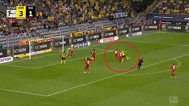 Erling Haaland zakończył mecz z Eintrachtem Frankfurt (5:2) z dwoma golami i trzema asystami na koncie