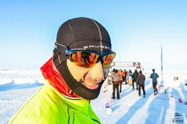 Zdjęcie numer 1 w galerii - Polak wygrał ekstremalny maraton na Antarktydzie.