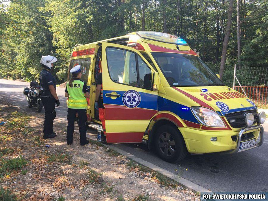 Wzorcowa postawa policjantek z Kielc