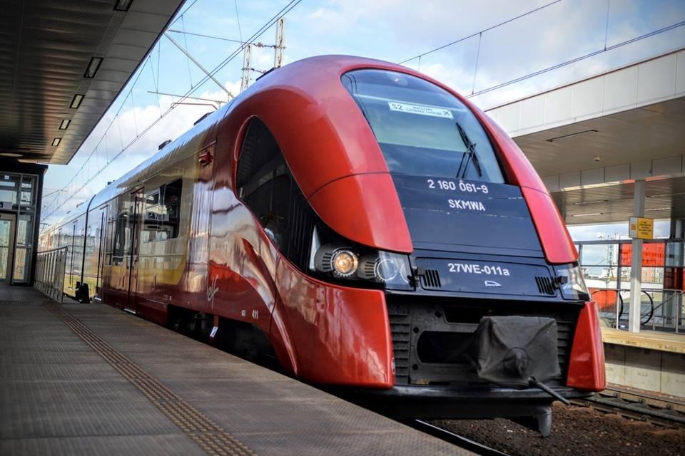 W tym pociągu SKM można podładować baterię telefonu, tabletu czy czytnika książek